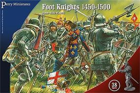 Perry War of the Roses Foot Knights 1450-1500 (38) Plastic Model Military Figure 28mm #304