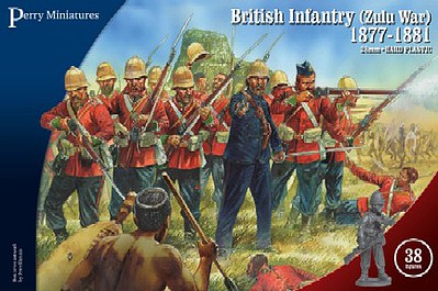 Perry Miniatures 28mm British Infantry Zulu War 1877-1881 (38)