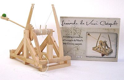 Pathfinders Leonardo DaVinci Catapult Wood Kit
