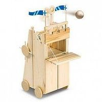 Pathfinders Medieval Siege Tower w/Catapult Wooden Kit