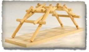 Pathfinders Leonardo DaVinci Emergency Bridge Wooden Kit