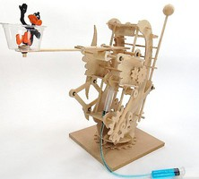 Pathfinders Hydraulic Gearbot Wooden STEM Activity Kit