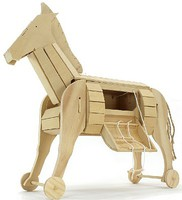 Pathfinders Ancient Trojan Horse Wooden Kit