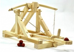 Pathfinders Ancient Roman Catapult Wooden Kit