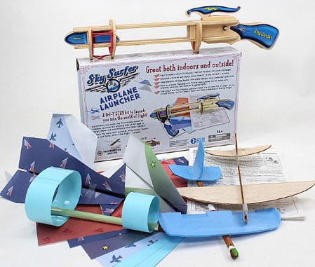 Pathfinders Sky Surfer Airplane Launcher STEM Activity Kit