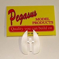 Pegasus 1964 Chevy Impala Skirts (Resin) Plastic Model Vehicle Accessory 1/24 Scale #1029