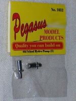 Pegasus Old School Hydro Pumps (2) Plastic Model Vehicle Accessory 1/24 Scale #1032