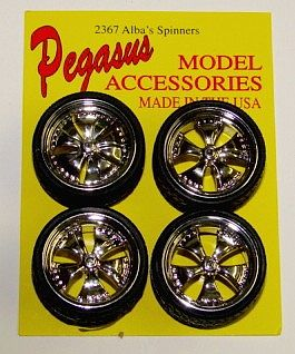 Plastic Model Tires Wheels Page 3
