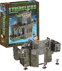 Pegasus Hobbies Syberclicks Construction Set (6-Frames, 100+ Details)