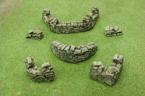 Pegasus Various Sandbags (Painted) Plastic Model Military Diorama 1/32 or 1/72 Scale #5209