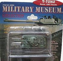 T72M2 1987 Parade Soviet Tank (Assembled) Pre-Built Plastic Model 1/144 Scale #608