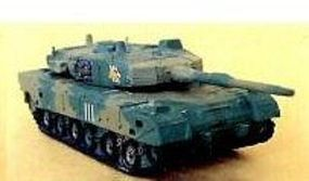 Pegasus Type 90 JGSDF Tank (Assembled) Pre-Built Plastic Model 1/144 Scale #613
