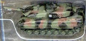 Pegasus Leopard 2A5 German NATO Camo Tank (Assembled) Pre-Built Plastic Model 1/144 Scale #614