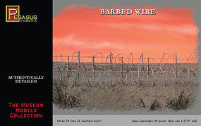 Pegasus Barbed Wire (29) Plastic Model Military Diorama #6520
