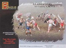 Pegasus Gladiators (36) Plastic Model Military Figure 1/72 Scale #7100