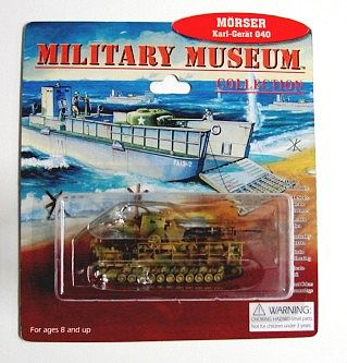 Pegasus Morser Karl Gerat 040 (Assembled) Plastic Model Military Vehicle 1/144 Scale #801