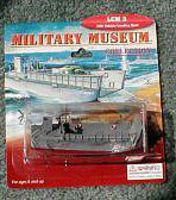 LCM-3 USN Landing Craft Pre Built Plastic Model Ship 1/144 Scale #802