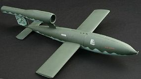 Pegasus V1 Flying Bomb (Assembled) Pre-Built Plastic Model Airplane 1/18 Scale #8903