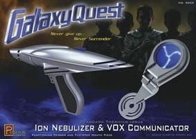 Pegasus Galaxy Quest IonNebulizer & VoxCommunicator Set Science Fiction Plastic Model Kit #9003