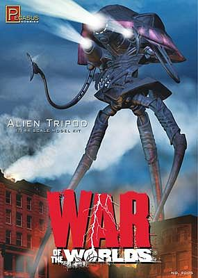 Pegasus Hobbies WoW Alien Tripod -- Science Fiction Plastic Model Kit -- 1/144 Scale -- #9005