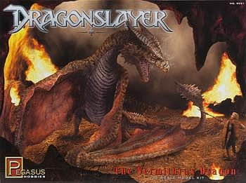 Pegasus Hobbies Dragonslayer Vermithrax Dragon -- Science Fiction Plastic Model Kit -- 1/32 Scale -- #9021
