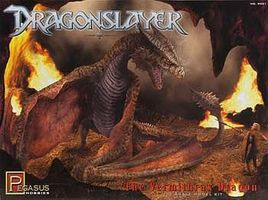 Pegasus Dragonslayer Vermithrax Dragon Science Fiction Plastic Model Kit 1/32 Scale #9021