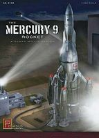 Pegasus Mercury 9 Rocket Space Program Plastic Model Kit 1/350 Scale #9103