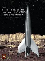 Pegasus Luna Rocketship Science Fiction Plastic Model Kit 1/350 Scale #9110
