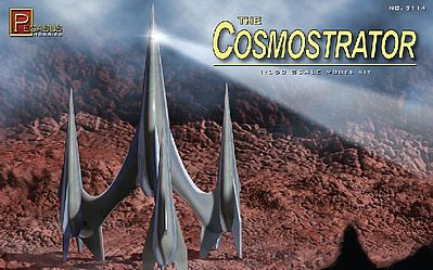 Pegasus Hobbies Cosmostrator -- Science Fiction Plastic Model Kit -- 1/350 Scale -- #9114