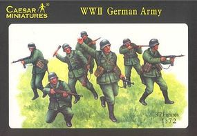 Pegasus WWII German Army (37) Plastic Model Military Figure 1/72 Scale #c037