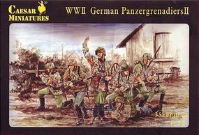 Pegasus Caesar German Panzergrenadiers II (35) Plastic Model Military Figure 1/72 Scale #c053