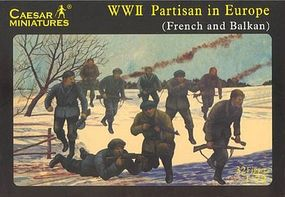 Pegasus WWII Partisan in Europe (32) Plastic Model Military Figure 1/72 Scale #c056