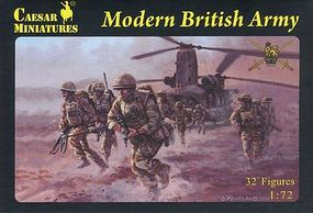 Pegasus Modern British Army (32) Plastic Model Military Figure 1/72 Scale #c060