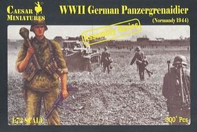 Pegasus WWII German Panzer Grenadier Normandy 1944 Plastic Model Military Figure 1/72 Scale #c7716