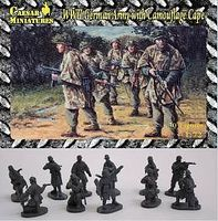 Pegasus WWII German Army with Camouflage Cape (30) Plastic Model Military Figure 1/72 Scale #hb04