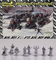Pegasus German Army Stalingrad 1/72 Scale Plastic Model Military Figure #hb09