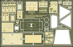 Paragraphix 1/24 LiS- Space Pod Photo-Etch & Decal Set for MOE