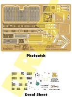 Paragraphix 1/24 LiS- Chariot Photo-Etch & Decal Set for MOE