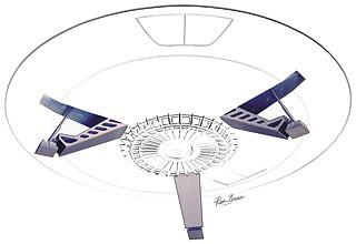 1/35 LiS- Jupiter 2 Spaceship Landing Gear Laser-Cut Acrylic, Resin, Metal  Set for MOE