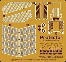 Paragraphix 1/1400 Galaxy Quest- NSEA Protector Photo-Etch Set for PGH