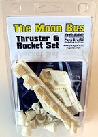 Paragraphix 1/50 Space Odyssey- Moon Bus Thruster & Rocket Resin Set for MOE