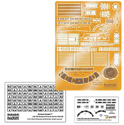 1/350 Star Trek The Original Series- USS Enterprise Supplemental Photo-Etch  & Decal Set for PLL