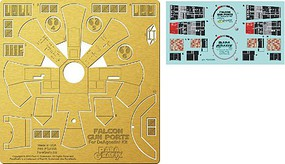 Paragraphix 1/43 DeAgostini Millennium Falcon Gun Port Photo-Etch & Decal Set