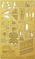 Paragraphix 1/72 Space 1999- Hawk MkIX Cockpit Photo-Etch Set for MPC