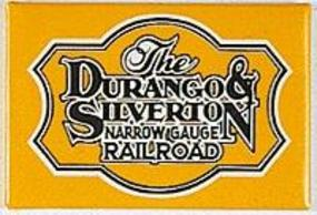 Phil-Derrig (bulk of 12) Railroad Magnets Durango & Silverton Model Railroad Mug Magnet Gift #13