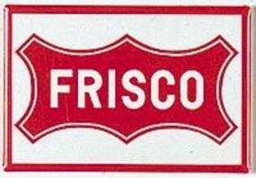 Phil-Derrig (bulk of 12) RR Magnet SLSF Frisco