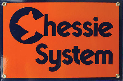 Phil Derrig Designs Sign CHESSIE 8 x 12''