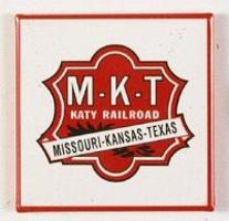 Phil-Derrig (bulk of 12) Railroad Magnets Missouri-Kansas-Texas ''Katy'' Model Railroad Mug Magnet G #20