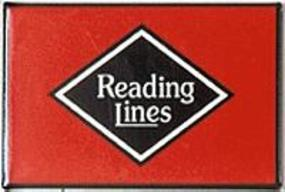 Phil-Derrig (bulk of 12) Railroad Magnets Reading Model Railroad Mug Magnet Gift #32