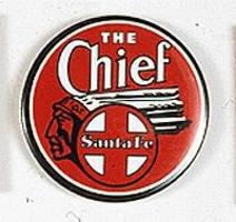 Phil-Derrig (bulk of 12) Railroad Magnets Atchison, Topeka & Santa Fe ''The Chief'' Model Railro #36